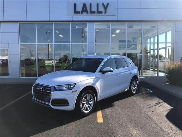 2020 Audi Q5 Quattro  Leather  Back-up Cam  Heated Seats  BT (Stk: 00137R) in Tilbury - Image 1 of 21