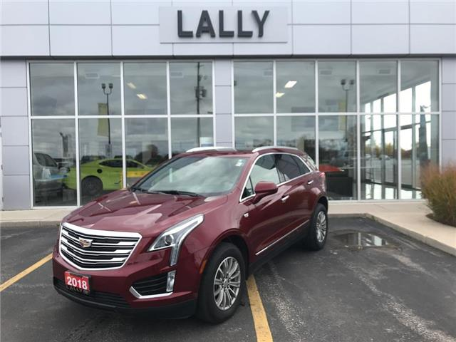 2018 Cadillac XT5 AWD| Sunroof| Back-up Cam| Lease Return (Stk: 00148R) in Tilbury - Image 1 of 24