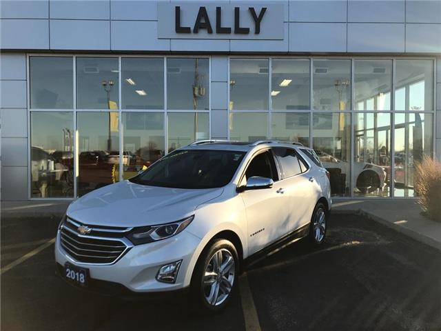 2018 Chevrolet Equinox Sunroof | Remote Start | Rev Cam | Heated Seats (Stk: R00501) in Tilbury - Image 1 of 28