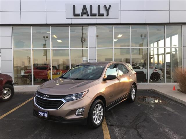 2018 Chevrolet Equinox Remote Start | Heated Seats | Back-up Cam (Stk: 00133R) in Tilbury - Image 1 of 27