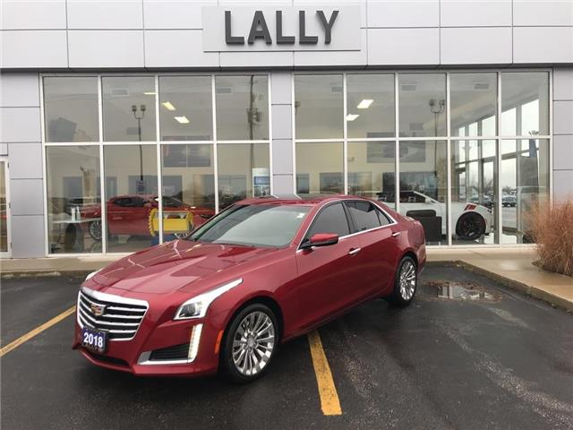 2018 Cadillac CTS 2.0L Turbo Luxury (Stk: r00509) in Tilbury - Image 1 of 27