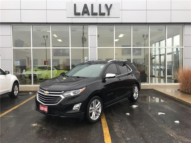 2018 Chevrolet Equinox Sunroof | Heated Seats | Nav | One Owner (Stk: 00194AA) in Tilbury - Image 1 of 26