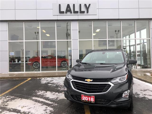2018 Chevrolet Equinox Rem Start | Heated Seats | Rev Cam (Stk: R00522) in Tilbury - Image 1 of 22