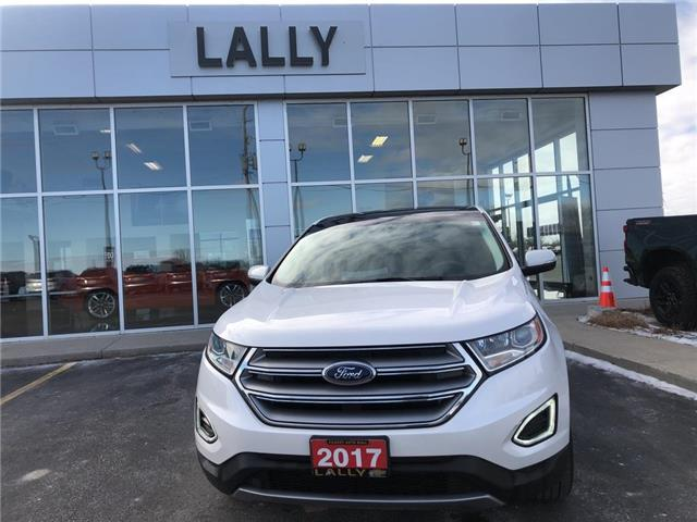 2017 Ford Edge Leather | Roof | Heated Seats | Rev Cam (Stk: R00525) in Tilbury - Image 1 of 25