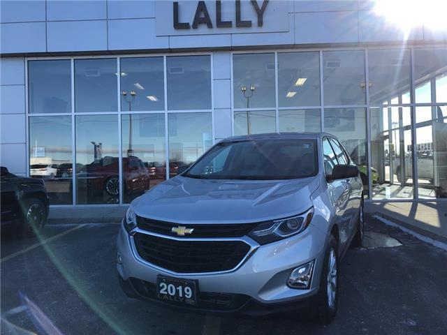 2019 Chevrolet Equinox Rem Start | Heated Seats | 1 owner (Stk: 00212A) in Tilbury - Image 1 of 23