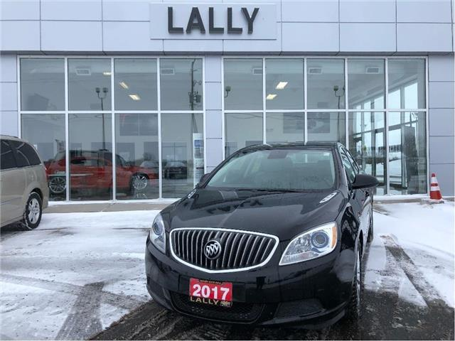 2017 Buick Verano Heated Seats | Remote Start | Rev Cam (Stk: 00252A) in Tilbury - Image 1 of 22