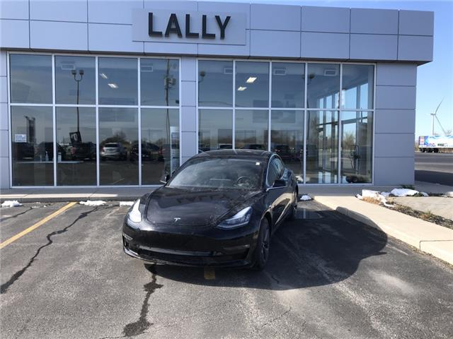 2019 Tesla Model 3 Long Range AWD | Auto Pilot Equipped | Skyroof (Stk: R00573) in Tilbury - Image 1 of 16