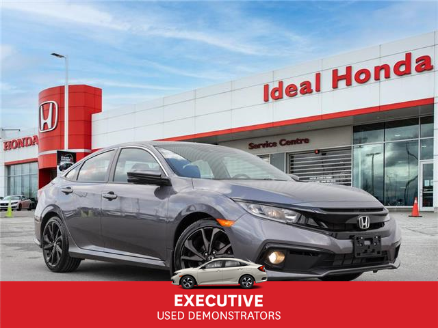 2020 Honda Civic Sport (Stk: I201137) in Mississauga - Image 1 of 28