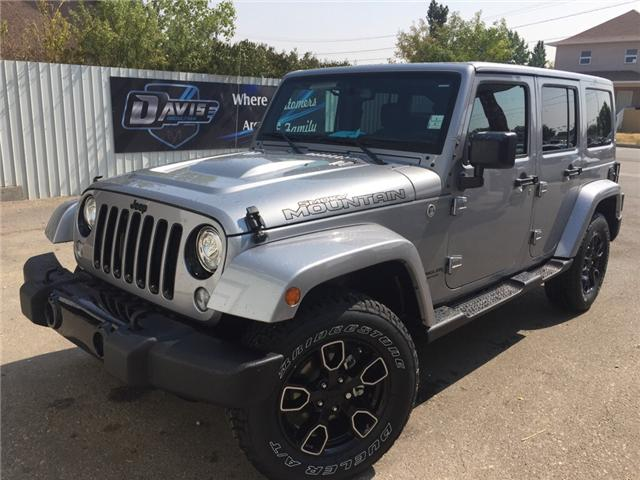 2017 Jeep Wrangler Unlimited Sahara (Stk: 11470) in Fort Macleod - Image 1 of 19