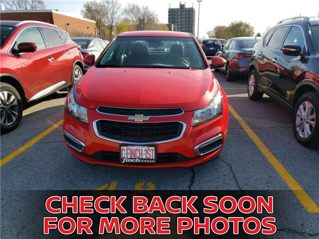 2016 Chevrolet Cruze Limited 1LT (Stk: 5600) in London - Image 1 of 3