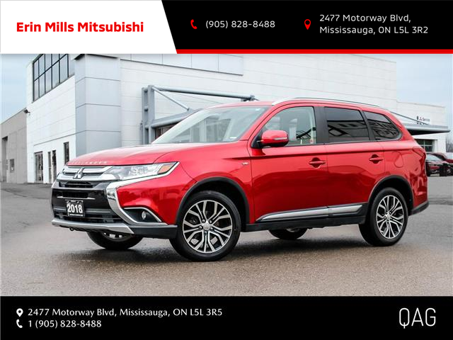 2018 Mitsubishi Outlander  (Stk: P2487) in Mississauga - Image 1 of 30