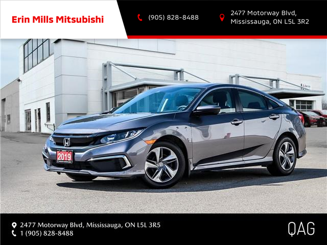 2019 Honda Civic LX (Stk: 20R3037A) in Mississauga - Image 1 of 29