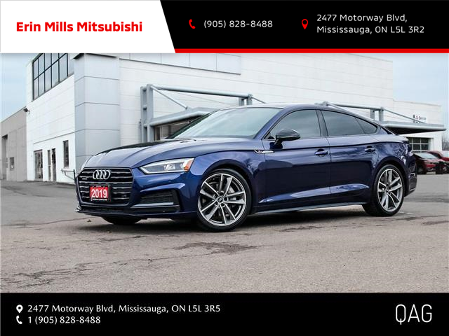 2019 Audi A5 45 Progressiv (Stk: P2505) in Mississauga - Image 1 of 30