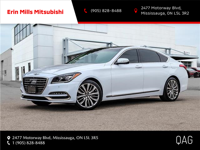 2019 Genesis G80 5.0 Ultimate (Stk: P2509) in Mississauga - Image 1 of 30