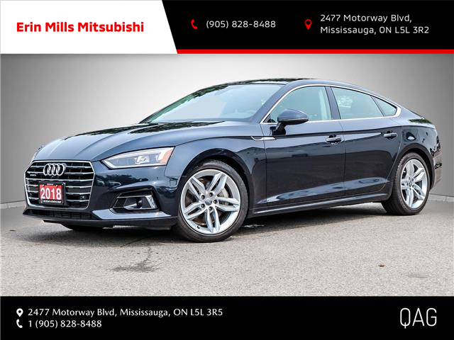 2018 Audi A5 2.0T Technik (Stk: P2552) in Mississauga - Image 1 of 30