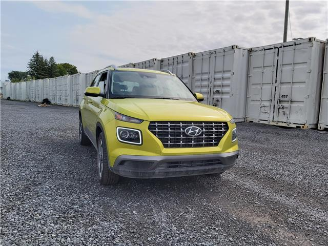 2020 Hyundai Venue Ultimate w/Grey-Lime Interior (Stk: R06014) in Ottawa - Image 1 of 16