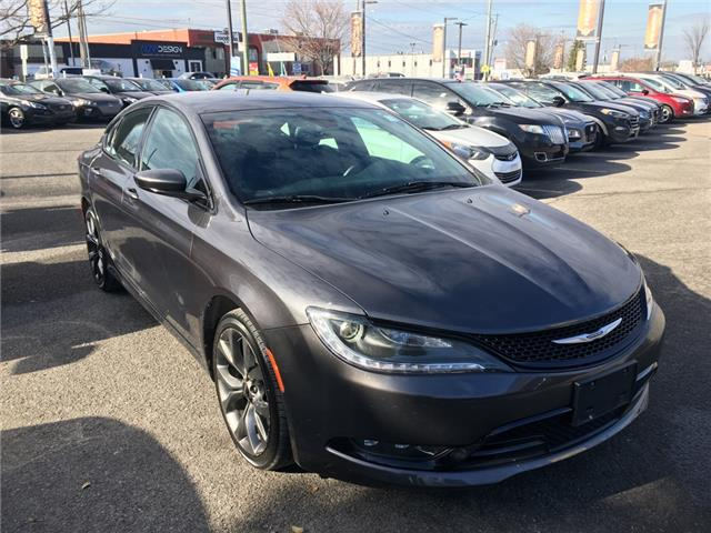 2015 Chrysler 200 S (Stk: X1493A) in Ottawa - Image 1 of 21