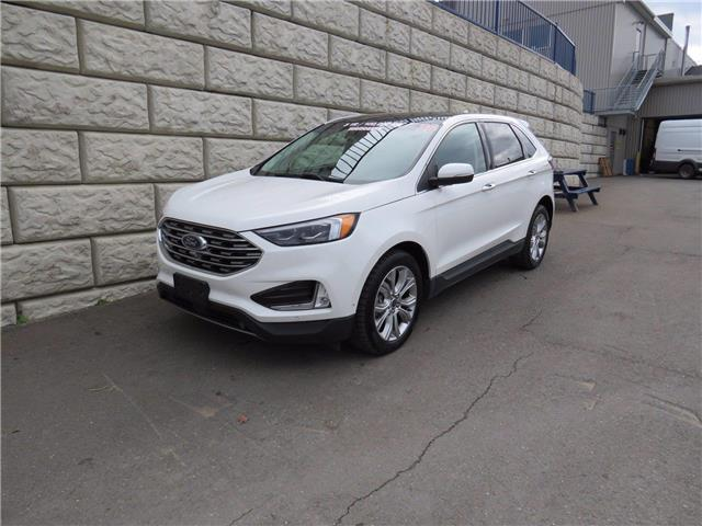 2020 Ford Edge Titanium (Stk: D01184P) in Fredericton - Image 1 of 18