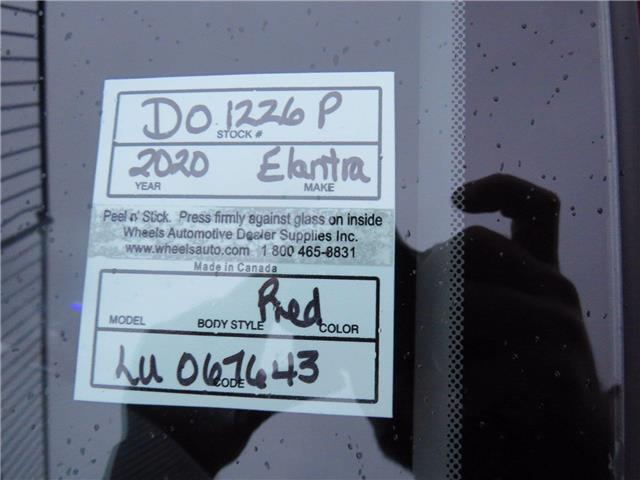 2020 Hyundai Elantra Essential (Stk: D01226P) in Fredericton - Image 1 of 17