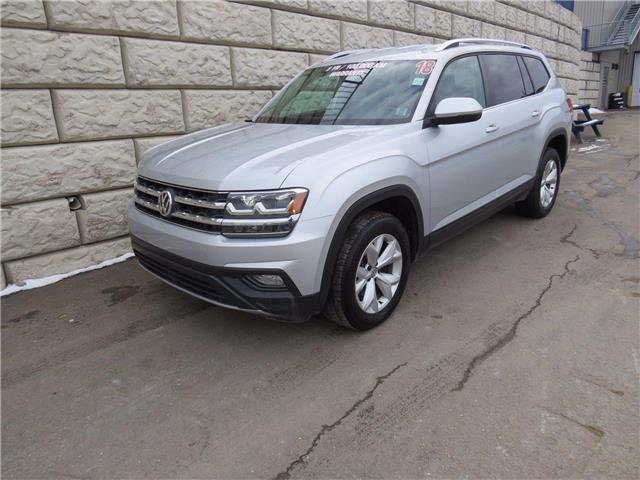 2018 Volkswagen Atlas Comfortline $119/wk Taxes Incl (Stk: D01235P) in Fredericton - Image 1 of 19