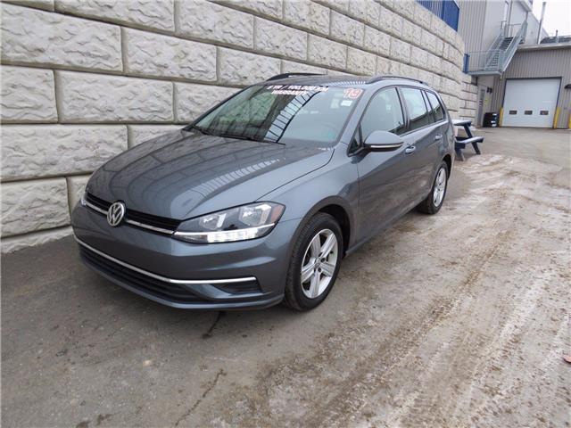 2019 Volkswagen Golf SportWagen Comfortline $77/wk Taxes Included $0 Down (Stk: D01239P) in Fredericton - Image 1 of 17