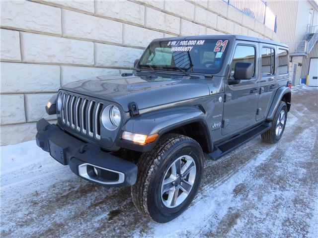 2021 Jeep Wrangler Sahara $162/wk Taxes Included $0 Down (Stk: D10365P) in Fredericton - Image 1 of 17