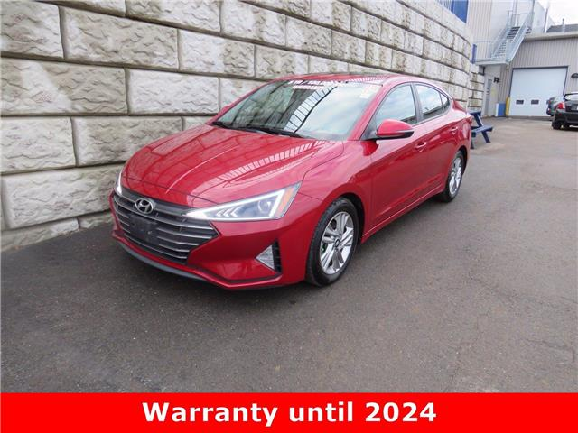 2019 Hyundai Elantra Preferred $65/wk Taxes in $0 Down (Stk: D01220P) in Fredericton - Image 1 of 18