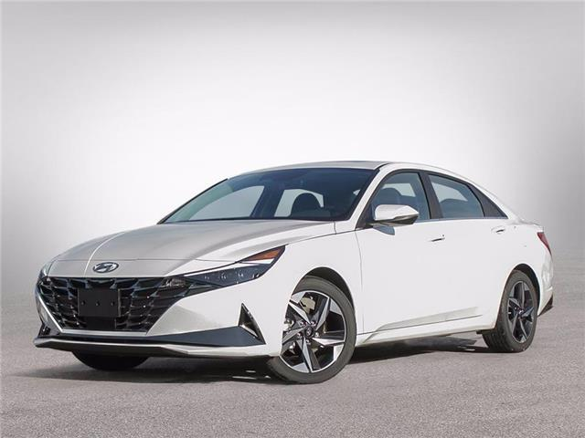 2021 Hyundai Elantra Ultimate w/Tech Pkg/Black Seats (Stk: D10348) in Fredericton - Image 1 of 11