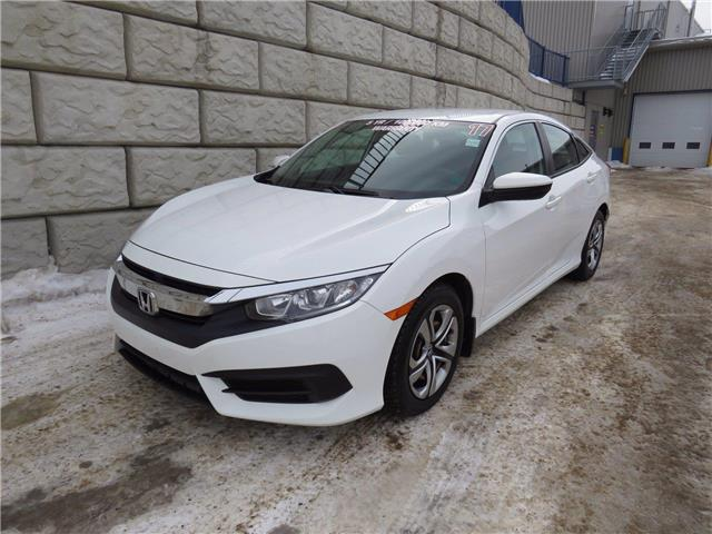 2017 Honda Civic Sedan LX $66/wk Taxes Included $0 Down (Stk: D10226P) in Fredericton - Image 1 of 19