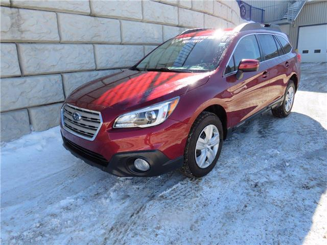 2017 Subaru Outback 2.5i (Stk: D10388P) in Fredericton - Image 1 of 18