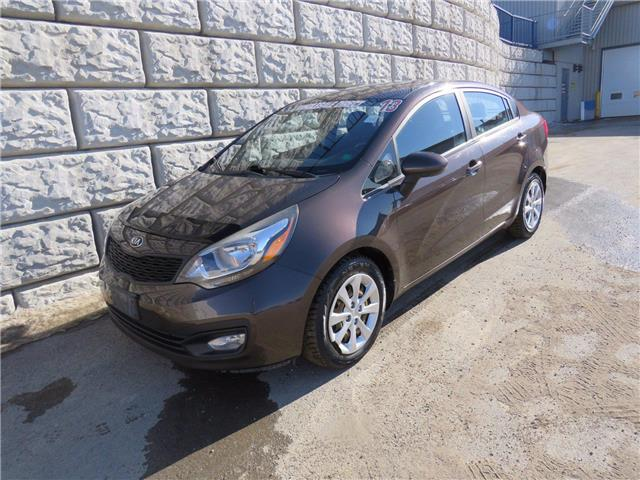 2013 Kia Rio EX $39/wk Taxes Included $0 Down (Stk: D10116AB) in Fredericton - Image 1 of 16