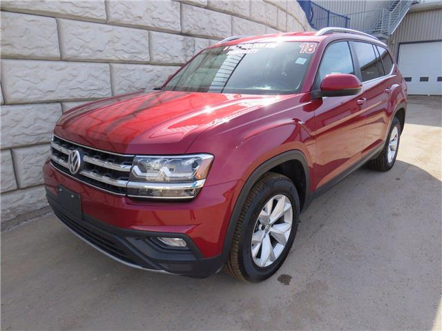2018 Volkswagen Atlas Comfortline $113/wk Taxes Included $0 Down (Stk: D10539P) in Fredericton - Image 1 of 18