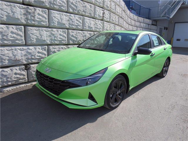 2021 Hyundai Elantra Preferred w/Sun & Tech Package (Stk: D10282) in Fredericton - Image 1 of 8