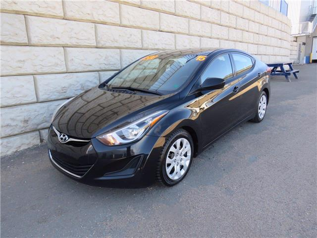 2015 Hyundai Elantra GL ONLY $48/wk Taxes Included $0 Down (Stk: D10527A) in Fredericton - Image 1 of 15