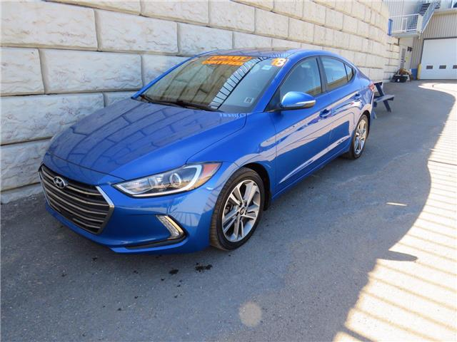 2018 Hyundai Elantra GLS $70/wk Taxes Incl. $0 Down Extended Warranty (Stk: D10673P) in Fredericton - Image 1 of 18