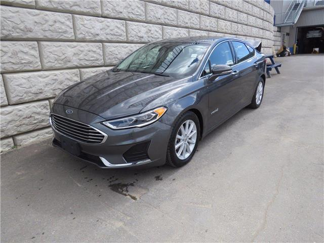 2019 Ford Fusion Hybrid SEL $79/wk Taxes Incl, $0 Down (Stk: D10687P) in Fredericton - Image 1 of 18