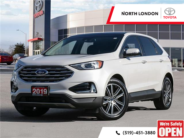 2019 Ford Edge Titanium (Stk: A221056) in London - Image 1 of 27