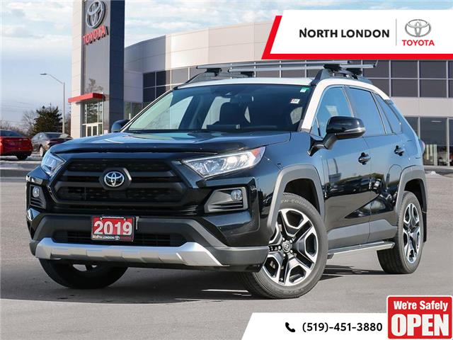 2019 Toyota RAV4 Trail (Stk: U11165) in London - Image 1 of 27