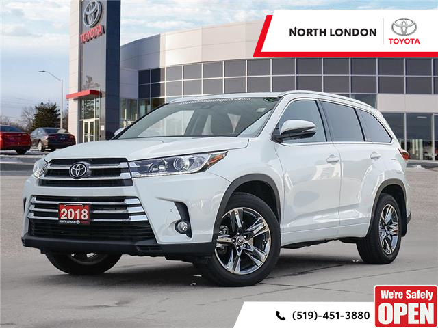 2018 Toyota Highlander Limited (Stk: A221021) in London - Image 1 of 27