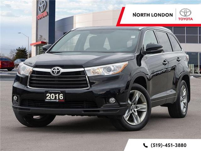 2016 Toyota Highlander Limited (Stk: A221085) in London - Image 1 of 24