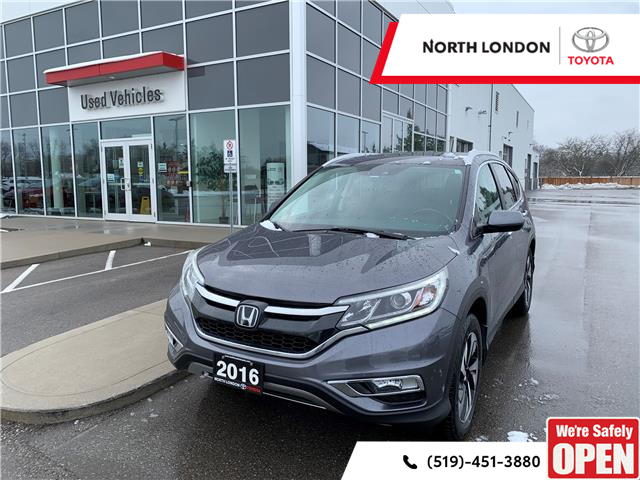 2016 Honda CR-V Touring (Stk: A221061) in London - Image 1 of 6