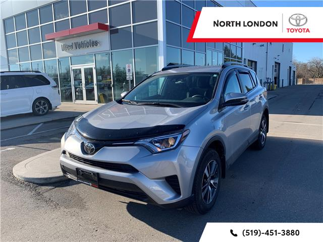 2018 Toyota RAV4 LE (Stk: A221143) in London - Image 1 of 6