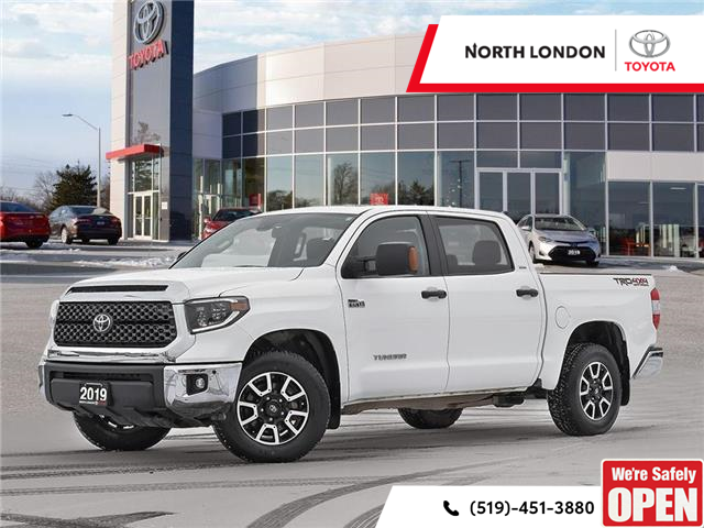 2019 Toyota Tundra SR5 Plus 5.7L V8 (Stk: A221141) in London - Image 1 of 27