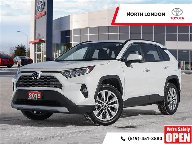 2019 Toyota RAV4 Limited (Stk: A221211) in London - Image 1 of 27