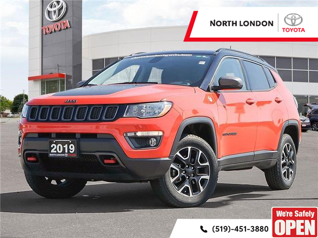 2019 Jeep Compass Trailhawk (Stk: A221355) in London - Image 1 of 27