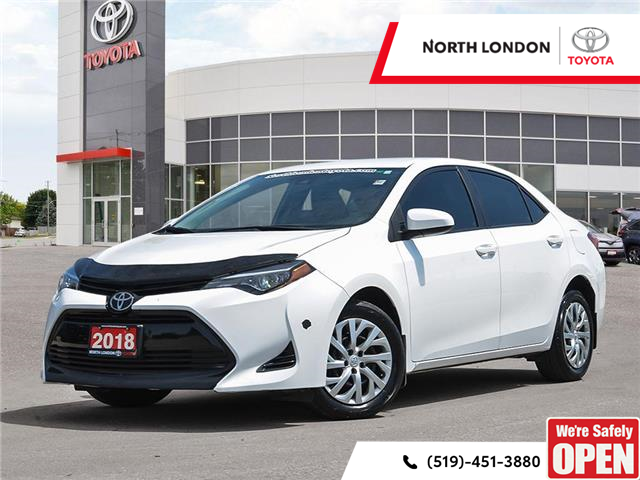 2018 Toyota Corolla LE (Stk: A221455) in London - Image 1 of 27