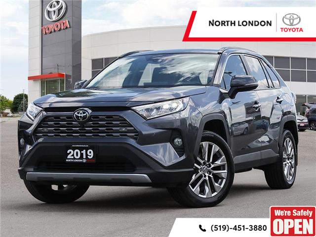 2019 Toyota RAV4 Limited (Stk: A221587) in London - Image 1 of 27