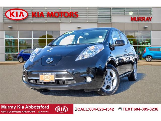2014 Nissan LEAF SV (Stk: M1777) in Abbotsford - Image 1 of 23