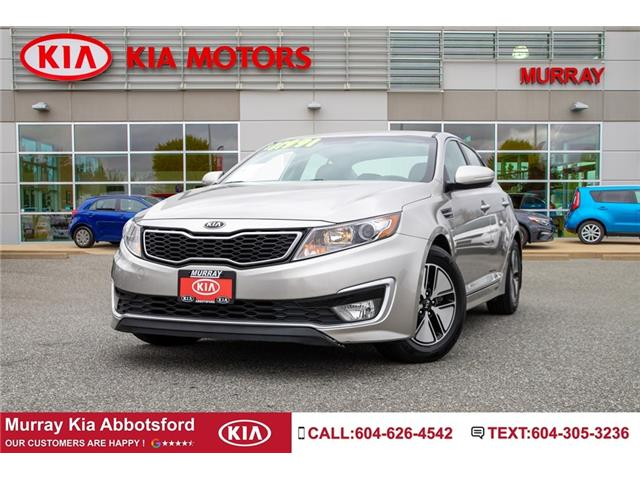 2013 Kia Optima Hybrid  (Stk: M1832) in Abbotsford - Image 1 of 23