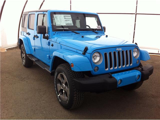 2017 Jeep Wrangler Unlimited Sahara (Stk: 170661) in Ottawa - Image 1 of 24